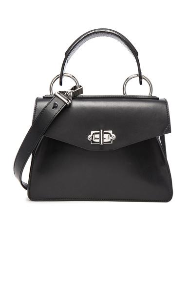 Proenza Schouler Small Hava Top Handle Bag in Black.