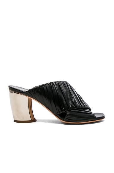 Proenza Schouler Metal Heel Mules in Black
