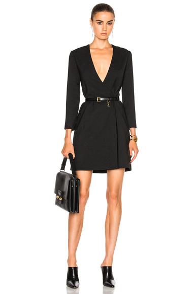 Protagonist Reversible Jacket Dress in Black
