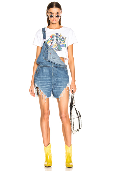 R13 | R13 Spiral Hem Overall In Blue. - Size M (Also In ) | Goxip
