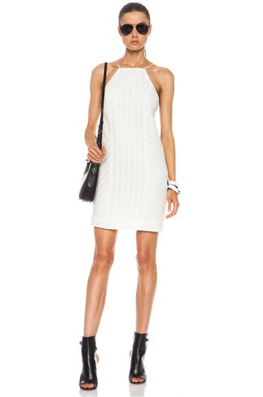 RAG & BONE | Anna Cotton-Blend Dress in White