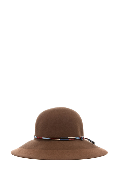 RAG & BONE | Dunaway Hat in Chestnut