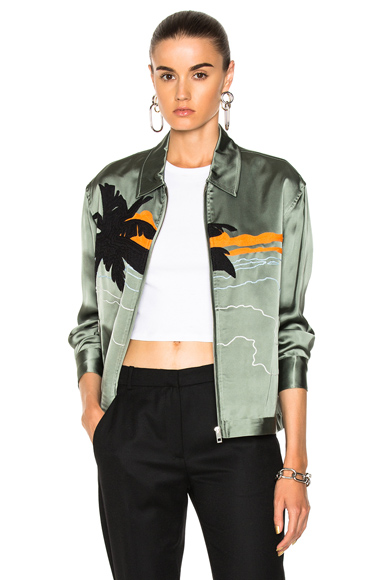 Rag & Bone Roth Jacket in Green