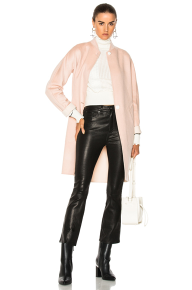 Rag & Bone Darwen Coat in Pink