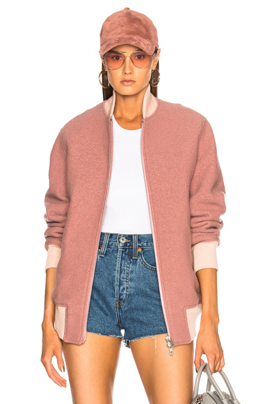 Rag & Bone Bomber in Pink
