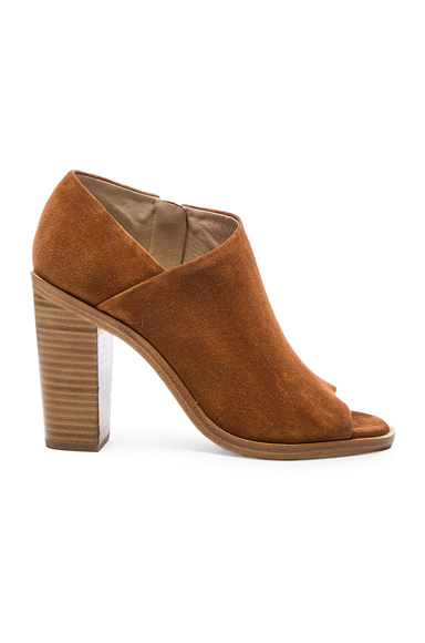 Rag & Bone Suede Mabel Booties in Brown