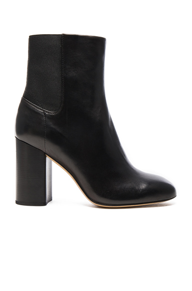 Photo of Rag & Bone Leather Agnes Booties in Black online womens shoes sales