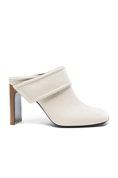 Rag & Bone Leather Elliott Booties in White