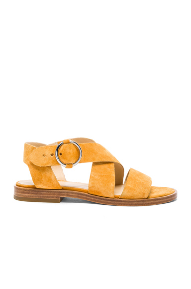 Rag & Bone Brie Sandal in Yellow