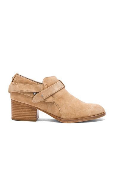 Photo of Rag & Bone Suede Harley Boots in Neutrals online womens shoes sales