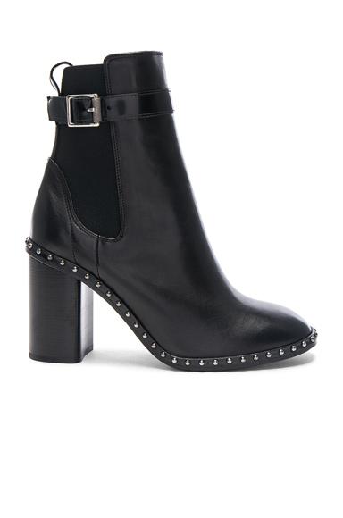 Rag & Bone Leather Romi Booties in Black