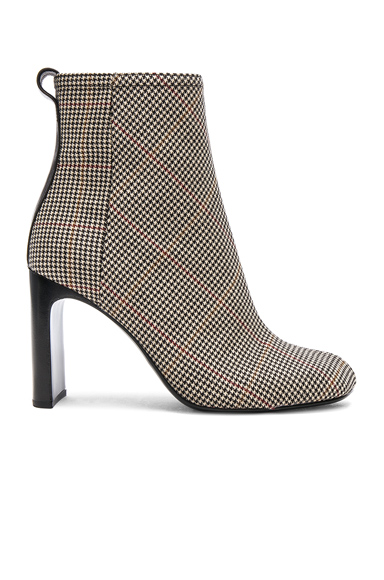 Rag & Bone Houndstooth Ellis Boots in Neutrals, Checkered & Plaid