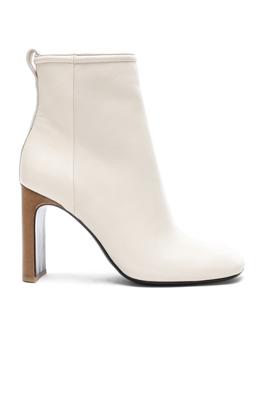 Rag & Bone Leather Ellis Boots in White