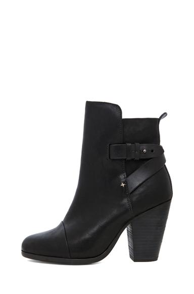 RAG & BONE | Kinsey Leather Boots in Black