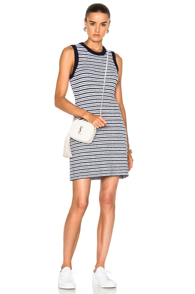 rag & bone/JEAN Lindsay Stripe Dress in Blue, Stripes, White