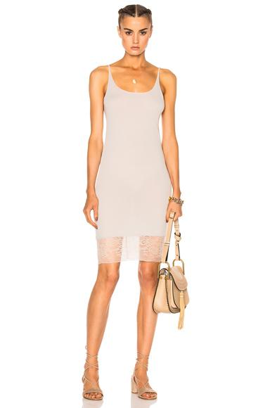Raquel Allegra Slip Lace Dress in White