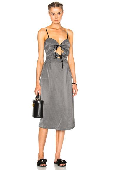Rachel Comey Chernist Dress in White, Checkered & Plaid
