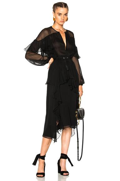 Rachel Comey Treason Dress in Black
