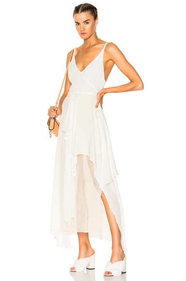 Rachel Comey Catch Dress in White