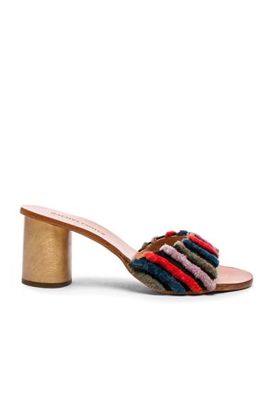Rachel Comey Wit Heels in Stripes, Black