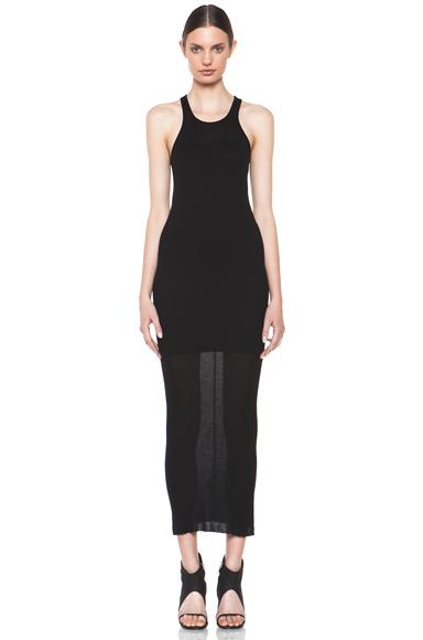 RICK OWENS | Tank Dress in Black