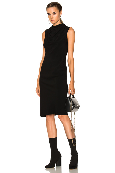 Rick Owens Bonnie Dress in Black
