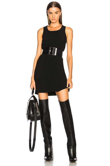 Rick Owens Tunic Dress in Black