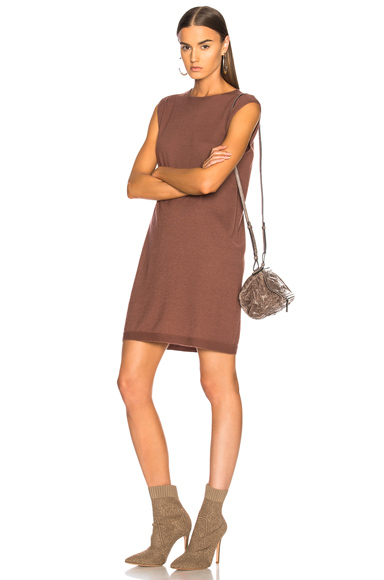 Rick Owens Cashmere Tunic in Brown