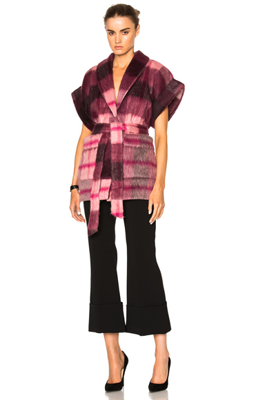 Photo of Rodebjer Eddie Jacket in Pink, Checkered & Plaid online womens jacket sales