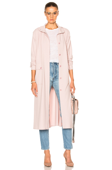Rodebjer Odessa Coat in Pink
