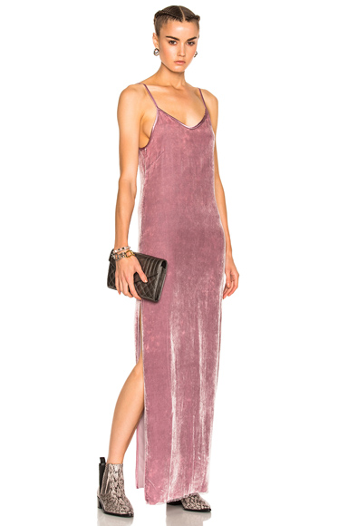 RtA Marlene Dress in Pink, Purple