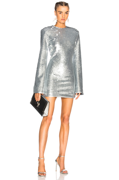 RtA Carringthon Dress in Metallics