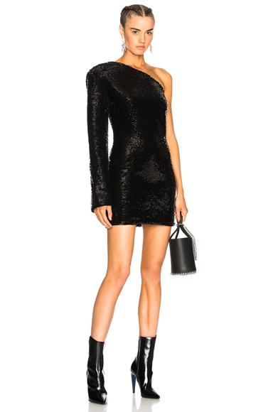 RtA Edie Dress in Black