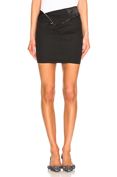 RTA | RtA Zandra Skirt In Black. - Size 2 (Also In 0,10) | Goxip