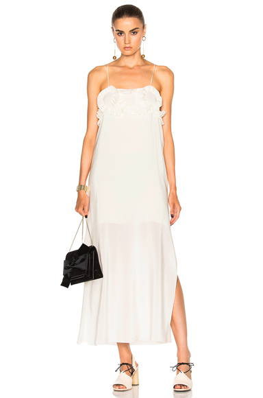 See By Chloe Spaghetti Strap Dress in White