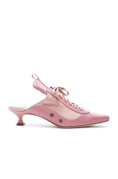 SIES MARJAN | Sies Marjan Alice Lace Up Mule In Pink. - Size 41 (Also In 36,38,39,40) | Goxip