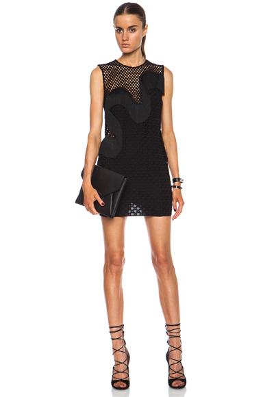 STELLA MCCARTNEY | Agata Rayon-Blend Dress in Black