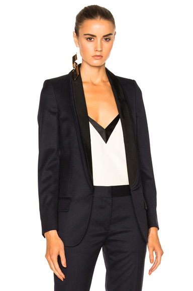 Stella McCartney Melissa Blazer in Blue