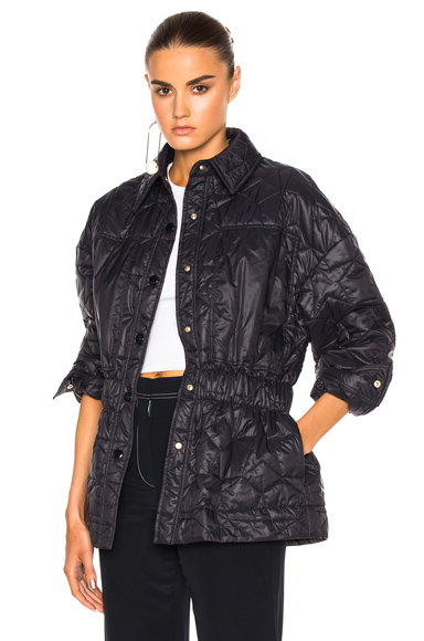 Stella McCartney Quilted Jacket in Blue