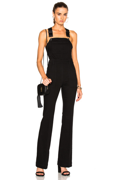 Stella McCartney Denim Jumpsuit in Black