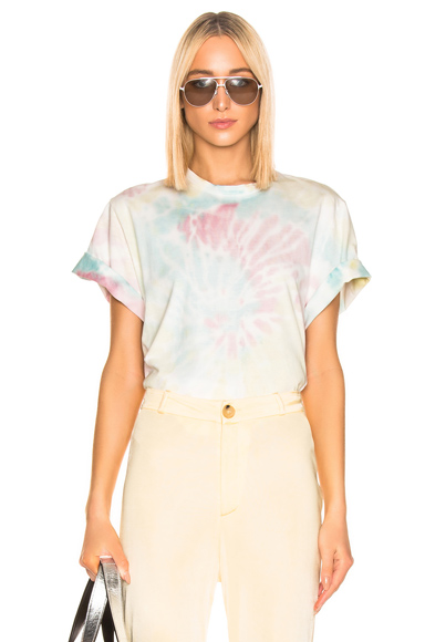 STELLA MCCARTNEY | Stella McCartney Tie Dye Tee Shirt In Pink. - Size 38 (Also In 36) | Goxip