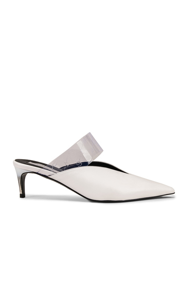 STELLA MCCARTNEY | Stella McCartney Sling Back Pumps In White. - Size 41 (Also In 36,38,39) | Goxip