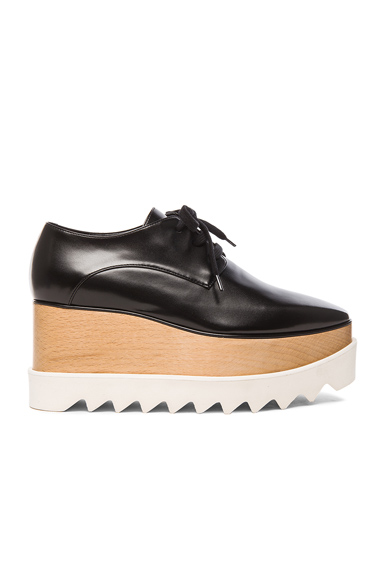 Stella McCartney Elyse Platform Shoes in Black