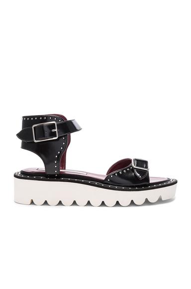 Stella McCartney Ankle Strap Sandals in Black