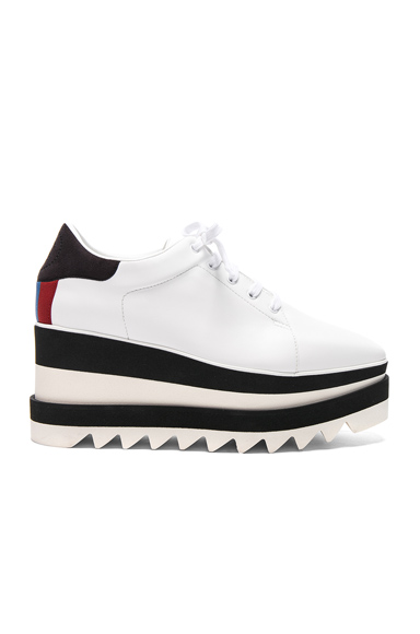 Stella McCartney Platform Sneakers in White