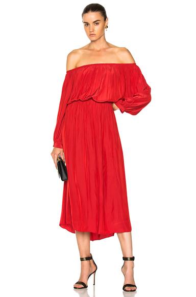 Smythe Gypset Dress in Red