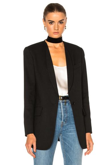 Skinny Lapel Blazer Jacket at FORWARD by elyse walker