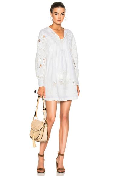 Talitha Cutwork Geeti Dress in White