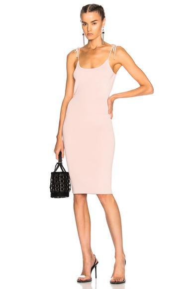 T by Alexander Wang Midi Tank Dress in Pink