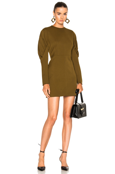 Tibi Florence Dress in Green